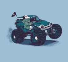 Monster Truckin' One Piece - Short Sleeve
