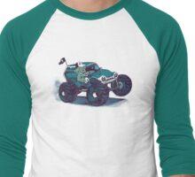 Monster Truckin' Men's Baseball ¾ T-Shirt