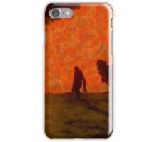 Bigfoot Alone by Sarah Kirk iPhone Case/Skin