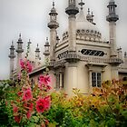 Brighton Royal Pavilion Behind Flowers by Karen Martin IPA