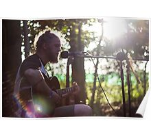 Acoustic Guitar Man Poster