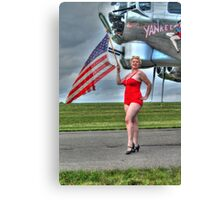 Yankee Girl 3 Canvas Print
