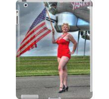 Yankee Girl 3 iPad Case/Skin