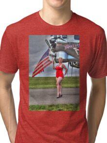 Yankee Girl 3 Tri-blend T-Shirt