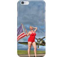 Yankee Girl 4 iPhone Case/Skin