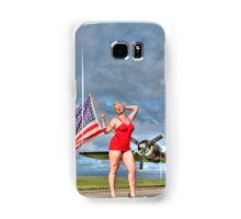 Yankee Girl 4 Samsung Galaxy Case/Skin