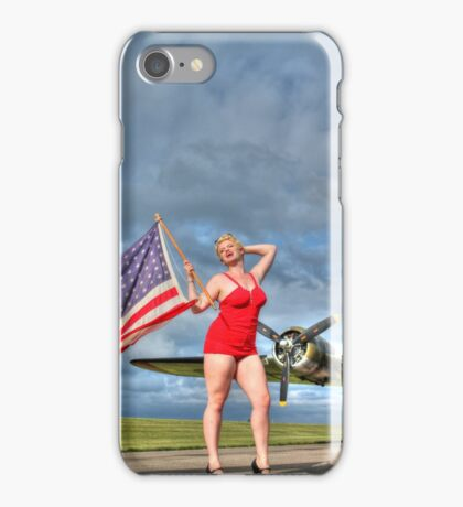 Yankee Girl 4 iPhone Case/Skin