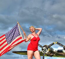 Yankee Girl 4 by Jimmy Ostgard