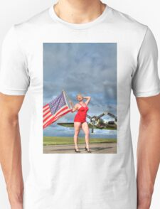 Yankee Girl 4 Unisex T-Shirt