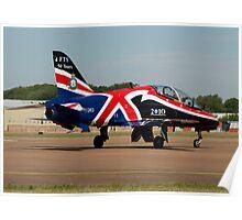 RAF Hawk T1, Fairford, Glos, UK Poster