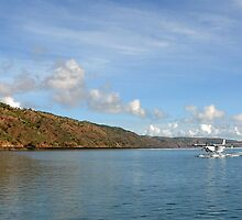 Seaplane landing on Talbot Bay by georgieboy98