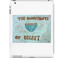 The Underpants of Regret iPad Case/Skin