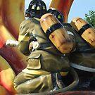 Firefighter monument by dmcfadden