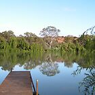 Bowhill Jetty to tranquillity by bsn-photography