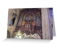 organ in Spain Greeting Card