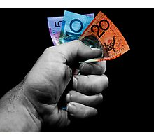 A Fistful of Dollars! Photographic Print