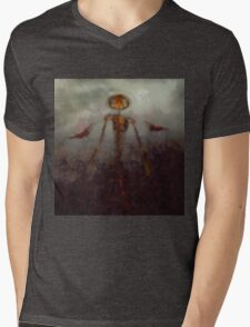 It Came From Hell by Sarah Kirk Mens V-Neck T-Shirt