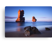 Morning light at Gibson Steps Canvas Print