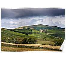 Long Crag, Northumberland National Park, England Poster