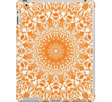 Tribal Mandala Orange iPad Case/Skin