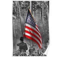 DADE'S BATTLE RE-ENACTMENT FLAG BEARER Poster