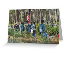 DADE'S BATTLE RE-ENACTMENT Greeting Card