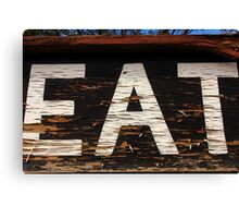 EAT at NEATH Canvas Print