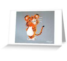 Cute Tiger Cub Greeting Card