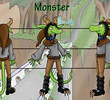 Monster Character Sheet by Forefox