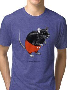 Rattus Americanus Tri-blend T-Shirt