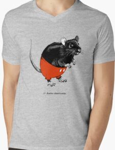 Rattus Americanus Mens V-Neck T-Shirt