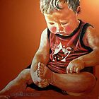 Fingers And Toes~ Commissioned Work by Susan Bergstrom