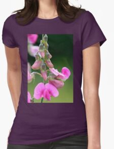 Sweet Pea  Womens Fitted T-Shirt