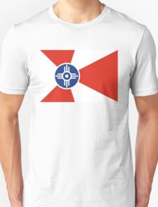 Wichita flag Unisex T-Shirt