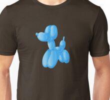 Blue Poodle Unisex T-Shirt