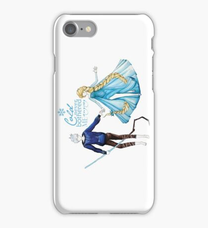 Cold never bothered me anyway (Jelsa) iPhone Case/Skin