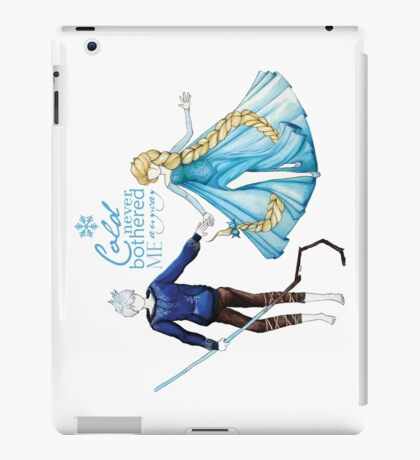 Cold never bothered me anyway (Jelsa) iPad Case/Skin