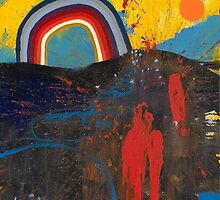 Number 2 (Rainbow Series) by Nathan Pendlebury