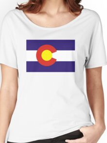 colorado state flag Women's Relaxed Fit T-Shirt