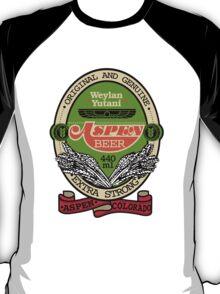 Aspen Beer - ALIEN - Nostromo's Drink Of Choice T-Shirt