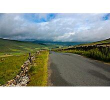 Baggamans Road  (Yorks Dales) Photographic Print