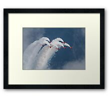The Red Arows Framed Print