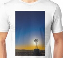 Afternoon light at the windmill -- 2.5 km north east of -- GLENGOWER, VIC, Australia Unisex T-Shirt