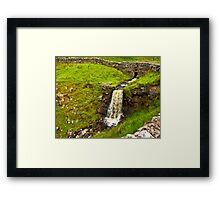 Dales Waterfall Framed Print