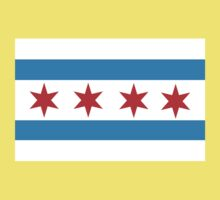 chicago flag Baby Tee