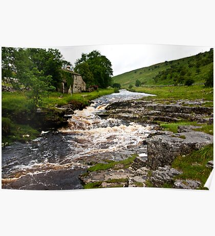 River Cottage  (River Wharfe) Poster