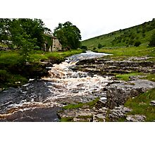 River Cottage  (River Wharfe) Photographic Print