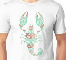 Scorpion – Mint & Rose Gold Unisex T-Shirt