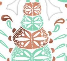 Scorpion – Mint & Rose Gold Sticker
