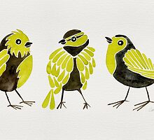 Goldfinches by Cat Coquillette